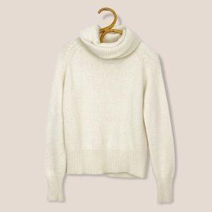 Vintage   Roots   Angora Blend Turtleneck Sweater